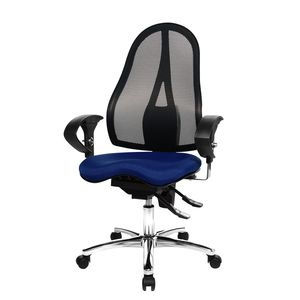 Bürodrehstuhl Sitness 15 - Blau, Topstar