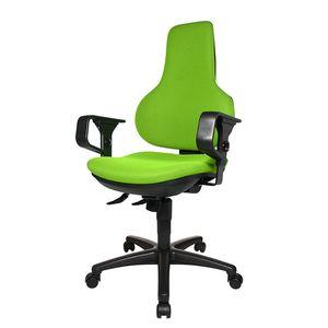 Bürodrehstuhl Ergo Point SY - Mit Armlehnen - Grün, Topstar
