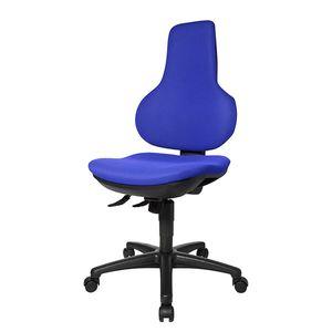 Bürodrehstuhl Ergo Point SY - Ohne Armlehnen - Blau, Topstar