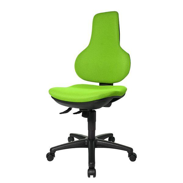 Bürodrehstuhl Ergo Point SY - Ohne Armlehnen - Grün, Topstar