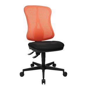 Bürodrehstuhl Head Point - Ohne Armlehnen - Ohne Kopfstütze - Rot / Schwarz, Topstar