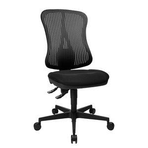 Bürodrehstuhl Head Point - Ohne Armlehnen - Ohne Kopfstütze - Schwarz, Topstar
