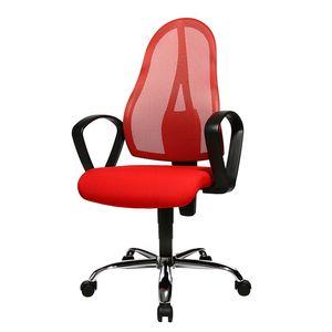 Bürodrehstuhl Open Point P Somo - Textilbezug - Rot, Topstar