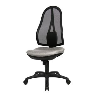 Bürodrehstuhl Open Point - Grau/Schwarz, Topstar