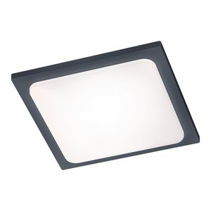 EEK A+, LED-Außenleuchte Trave - Aluminium / Kunststoff - Anthrazit - 1-flammig, Trio
