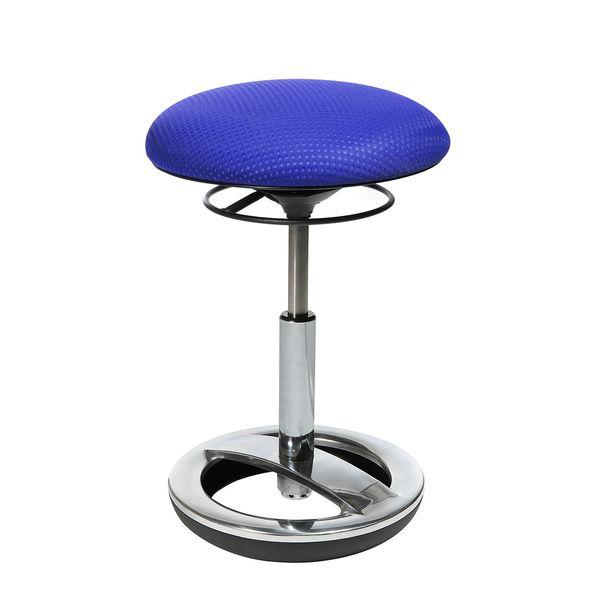 Fitness-Hocker Sitness Bob - Blau, Topstar