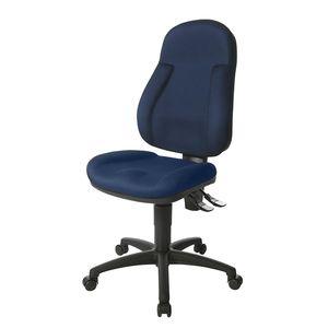 Bürostuhl Wellpoint 10 P - Blau/Schwarz, Topstar