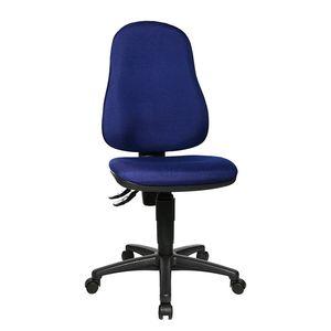 Bürostuhl Point 60 - Blau/Schwarz, Topstar