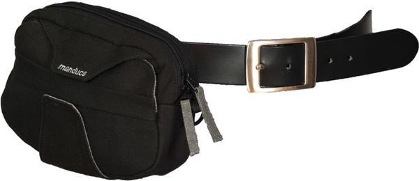 manduca Babytrage-Gürteltasche Black