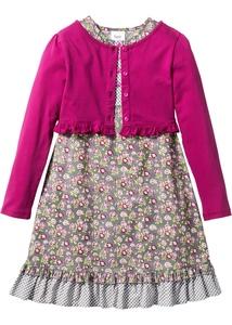 Kleid + Shirtjacke (2-tlg. Set)