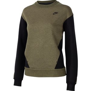 Nike TECH FLEECE CREW CAB - Damen Shirts & Tops