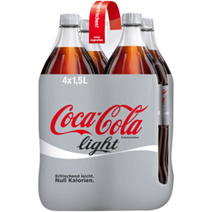 Coca-Cola light 4x1,5l