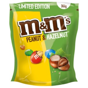 m&m's Peanut and Hazelnut Limited Edition 300g
