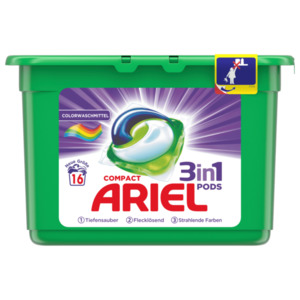 Ariel Colorwaschmittel 3in1 Pods 16WL 423g