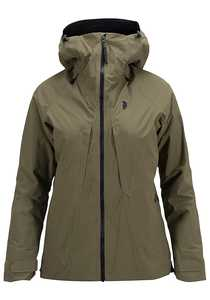 Peak Performance Teton 2L - Outdoorjacke für Damen - Grün