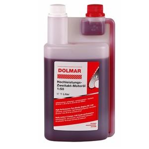 Dolmar Hochleistungs-Zweitakt- Motorenöl in Dosierflasche 1 ltr.