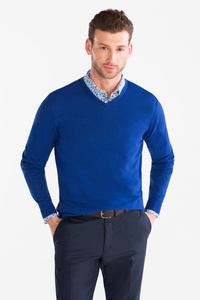 Angelo Litrico         Businesshemd mit Pullover - Slim Fit - Kent