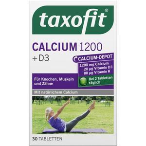 taxofit Calcium 1200 + D3 Tabletten 6.05 EUR/100 g