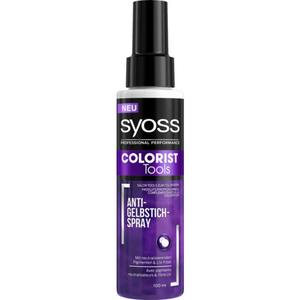 Syoss Professional Performance Colorist Tools Anti-Gelbstich-Spray