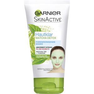 Garnier SkinActive Hautklar Matcha Detox porenreinigende Maske