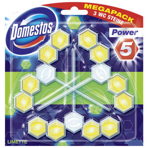 Domestos Power 5 Limette Megapack