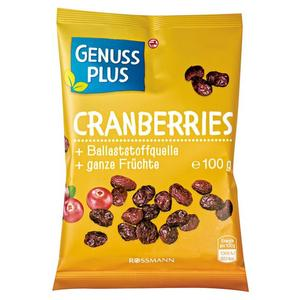 GENUSS PLUS Cranberries