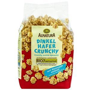 Alnatura Bio Dinkel Hafer Crunchy mit Reissirup gesüßt 5.24 EUR/1 kg