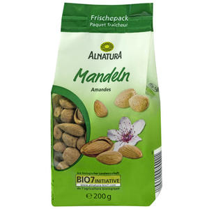 Alnatura Bio Mandeln 1.50 EUR/100 g