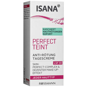 ISANA Perfect Teint Anti-Rötung Tagescreme 9.98 EUR/100 ml