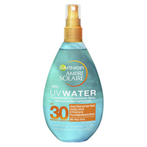 Ambre Solaire UV Water Spray LSF30 je-150-ml-Flasche