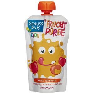 GENUSS PLUS Kids Bio Fruchtpüree Apfel-Aprikose 0.66 EUR/100 g (10 x 120.00g)