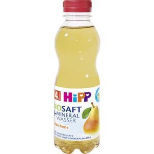 HiPP Bio BIOSAFT + Mineralwasser milde Birne 1.90 EUR/1 l (6 x 500.00ml)
