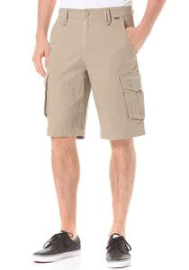 Hurley One & Only Cargo 2.0 - Shorts für Herren - Beige