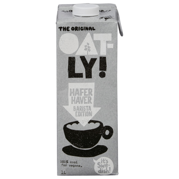 Oatly Hafer Barista Edition 1l