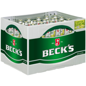 Beck's Green Lemon 24x0,33l