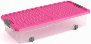 Unterbettbox mit Deckel - L - pink
