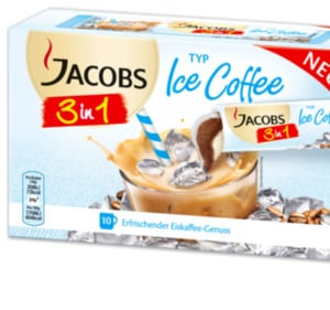 JACOBS 3 in 1 Ice Coffee, 3 in 1, 2 in 1 oder Espresso Sticks