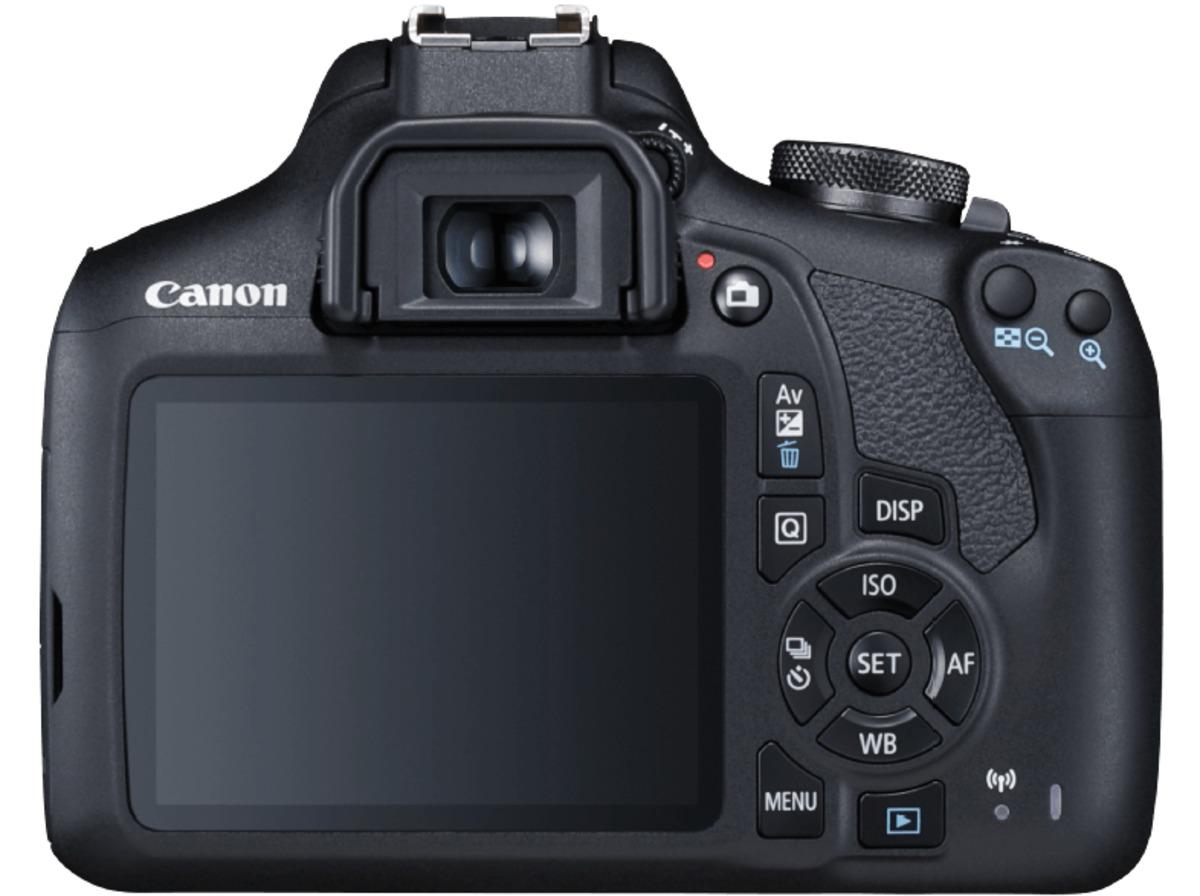 Bild 3 von CANON EOS 2000D Kit Spiegelreflexkamera, 24.1 Megapixel, Full HD, CMOS Sensor, Near Field Communication, WLAN, 18-55 mm Objektiv (EF-S, IS II), Autofokus, Schwarz