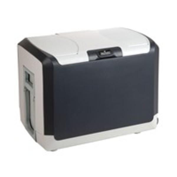 Norauto Kühlbox, elektrisch mit 230V/12V AC/DC, ca. 40 Liter Fassungsvermögen, in Grau