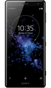 Sony Xperia XZ2 Telekom Smartphone liquid black