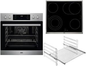 AEG EUR351IN Geräte-Set edelstahl/cleansteel + edelstahl / A+