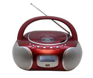 soundmaster SCD4200RO CD/Radio-System rot