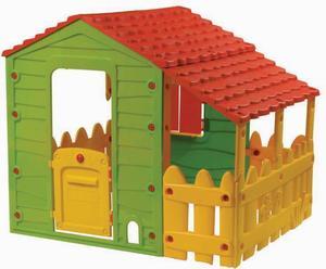 Lookids Farmhaus mit Gartenzaun