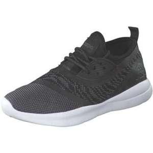 Kappa Layer Sneaker Damen schwarz