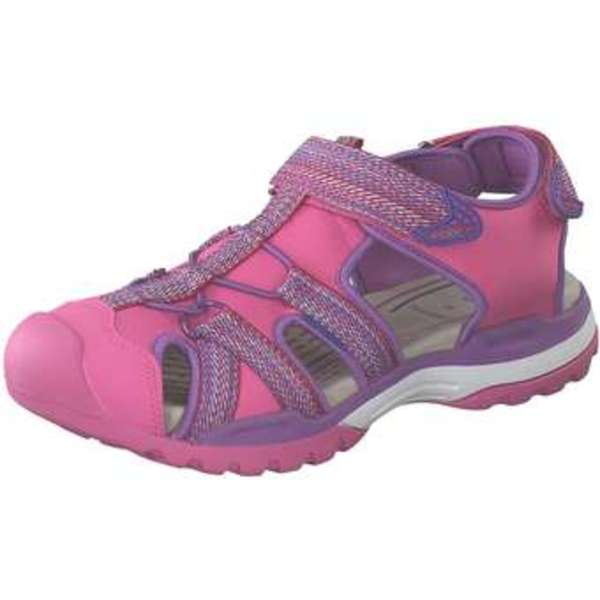 Geox J Borealis G.B Flat Sandale Mädchen pink