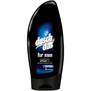 Duschdas For Men 2 in 1 Duschgel & Shampoo 250ml