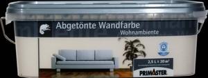 Primaster Wandfarbe Wohnambiente ,  crema, 2,5 l