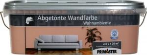 Primaster Wandfarbe Wohnambiente ,  havanna, 2,5 l