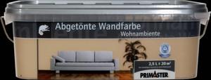 Primaster Wandfarbe Wohnambiente ,  kakao, 2,5 l
