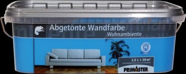 Primaster Wandfarbe Wohnambiente ,  nachtblau, 2,5 l